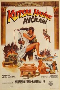 Indiana Jones e os Caçadores da Arca Perdida - Poster / Capa / Cartaz - Oficial 8
