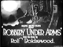 Robbery Under Arms - Poster / Capa / Cartaz - Oficial 1
