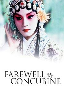 Adeus, Minha Concubina - Poster / Capa / Cartaz - Oficial 2