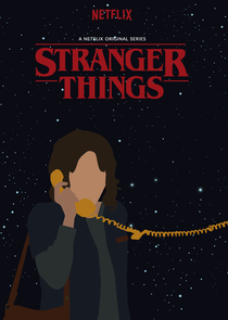 Stranger Things (1ª Temporada) - Poster / Capa / Cartaz - Oficial 6