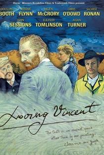 Com Amor, Van Gogh - Poster / Capa / Cartaz - Oficial 4
