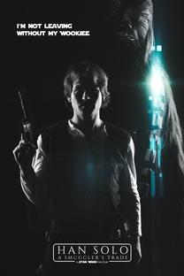 Han Solo - A Barganha do Contrabandista - Poster / Capa / Cartaz - Oficial 1