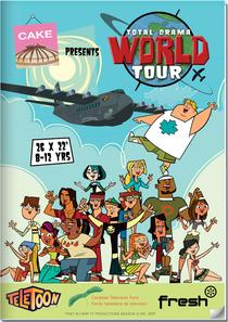 Drama Total, Turnê Mundial - Poster / Capa / Cartaz - Oficial 1