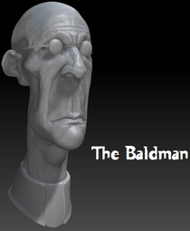 The Baldman - Poster / Capa / Cartaz - Oficial 1