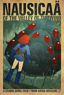 Nausicaä do Vale do Vento - Poster / Capa / Cartaz - Oficial 6