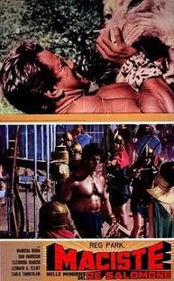Maciste nas Minas do Rei Salomão - Poster / Capa / Cartaz - Oficial 1