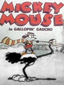 The Gallopin' Gaucho - Poster / Capa / Cartaz - Oficial 1