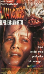 Humanóides - Expêriencia Mortal - Poster / Capa / Cartaz - Oficial 3