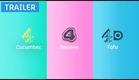 Cucumber, Banana, Tofu | Brand New Series | Coming January