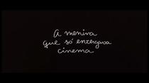 A menina que só enxergava cinema - Poster / Capa / Cartaz - Oficial 2
