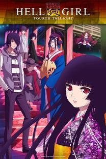 Jigoku Shoujo (4ª Temporada) - Poster / Capa / Cartaz - Oficial 1