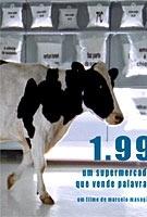 1,99 - Um Supermercado Que Vende Palavras - Poster / Capa / Cartaz - Oficial 2