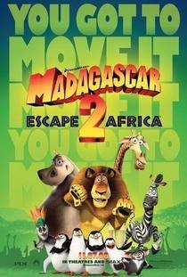 Madagascar 2: A Grande Escapada - Poster / Capa / Cartaz - Oficial 5