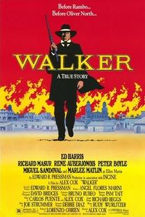 Walker - Uma Aventura na Nicarágua - Poster / Capa / Cartaz - Oficial 1