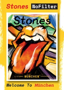 Rolling Stones - Munich 2017 - Poster / Capa / Cartaz - Oficial 1