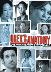 Grey's Anatomy (2ª Temporada) - Poster / Capa / Cartaz - Oficial 1