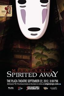 A Viagem de Chihiro - Poster / Capa / Cartaz - Oficial 7