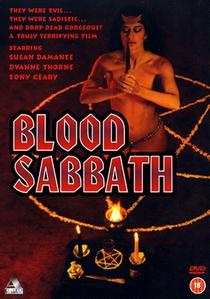 Blood Sabbath - Poster / Capa / Cartaz - Oficial 1