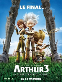 Arthur e a Guerra dos Dois Mundos - Poster / Capa / Cartaz - Oficial 2