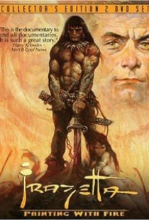 Frazetta: Painting with Fire - Poster / Capa / Cartaz - Oficial 1