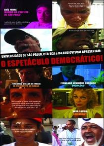 O espetáculo democrático - Poster / Capa / Cartaz - Oficial 1