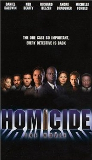 Homicide: The Movie - Poster / Capa / Cartaz - Oficial 1