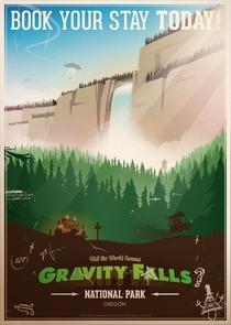 Gravity Falls (1ª Temporada) - Poster / Capa / Cartaz - Oficial 2