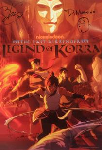 A Lenda de Korra (1ª Temporada) - Poster / Capa / Cartaz - Oficial 1