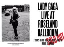 Lady Gaga Live at Roseland Ballroom - Poster / Capa / Cartaz - Oficial 2