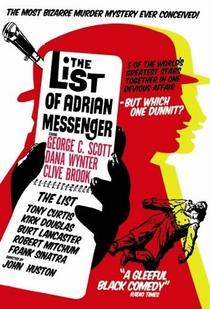 A Lista de Adrian Messenger - Poster / Capa / Cartaz - Oficial 1