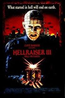 Hellraiser III - Inferno na Terra - Poster / Capa / Cartaz - Oficial 1