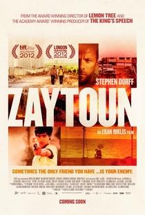 Zaytoun - Poster / Capa / Cartaz - Oficial 1