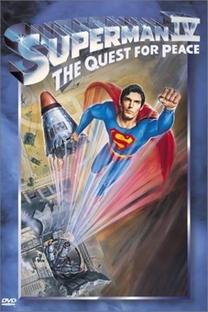 Superman IV - Em Busca da Paz - Poster / Capa / Cartaz - Oficial 1