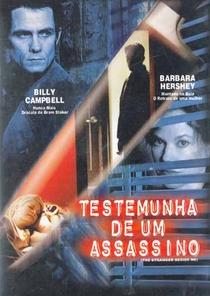 Testemunha de Um Assassino - Poster / Capa / Cartaz - Oficial 1