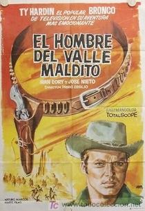O Pistoleiro do Vale Maldito - Poster / Capa / Cartaz - Oficial 3