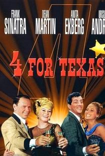 Os 4 Heróis do Texas - Poster / Capa / Cartaz - Oficial 1
