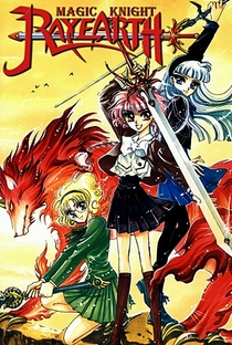 Guerreiras Mágicas de Rayearth (1ª Temporada) - Poster / Capa / Cartaz - Oficial 3