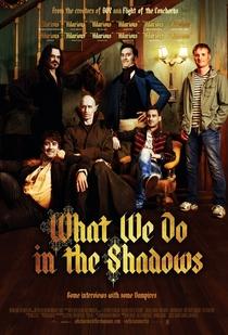 O Que Fazemos Nas Sombras - Poster / Capa / Cartaz - Oficial 2