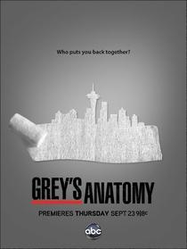 Grey's Anatomy (8ª Temporada) - Poster / Capa / Cartaz - Oficial 3
