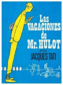 As Férias do Sr. Hulot - Poster / Capa / Cartaz - Oficial 4