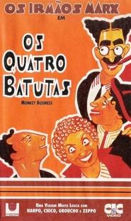Os Quatro Batutas - Poster / Capa / Cartaz - Oficial 3