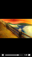 Edvard Munch The Scream Animation (Edvard Munch The Scream Animation)