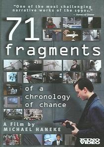 71 Fragmentos de uma Cronologia do Acaso - Poster / Capa / Cartaz - Oficial 3