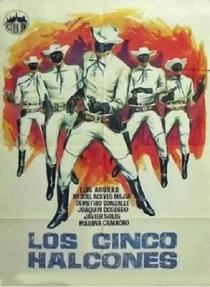 OS CINCO FALCÕES NEGROS - Poster / Capa / Cartaz - Oficial 1