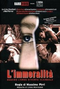 L'immoralità - Poster / Capa / Cartaz - Oficial 1