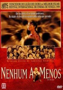 Nenhum a Menos - Poster / Capa / Cartaz - Oficial 2