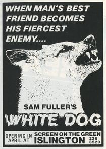 Cão Branco - Poster / Capa / Cartaz - Oficial 4