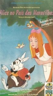 Alice no País das Maravilhas - Poster / Capa / Cartaz - Oficial 1