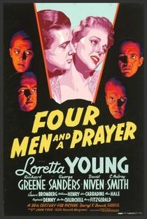 Quatro Homens e Uma Prece - Poster / Capa / Cartaz - Oficial 1