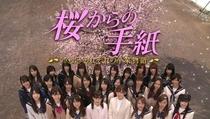 Sakura Kara no Tegami - Poster / Capa / Cartaz - Oficial 1